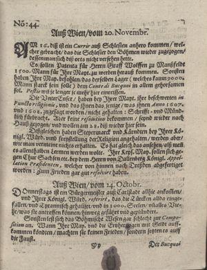 Bericht was sich zu anfang dieß itzt angehenden ... Jahres in Deutschlandt, Franckreich, Welschlandt, Böhmen, Ungern, Nederlandt und in andern örten hin unnd wieder zugetragen vom 12.11.1618