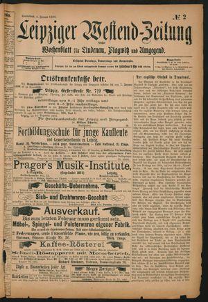 Leipziger Westend-Zeitung vom 04.01.1896