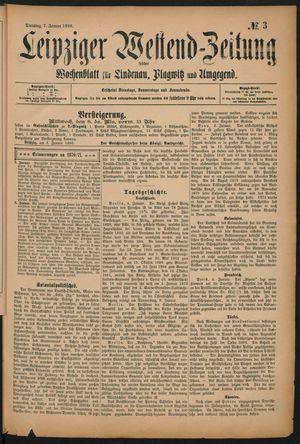 Leipziger Westend-Zeitung vom 07.01.1896