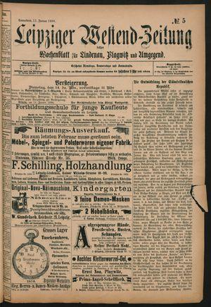 Leipziger Westend-Zeitung vom 11.01.1896