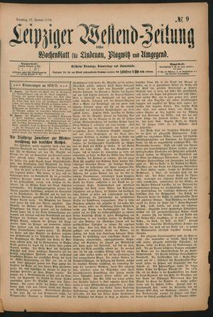 Leipziger Westend-Zeitung vom 21.01.1896
