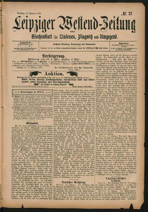 Leipziger Westend-Zeitung vom 18.02.1896