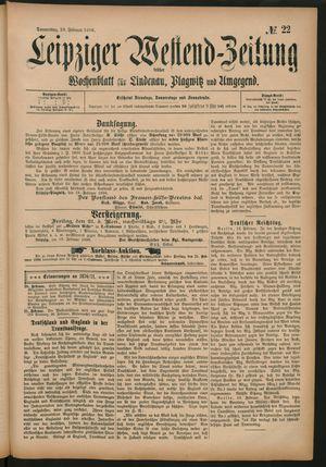 Leipziger Westend-Zeitung on Feb 20, 1896