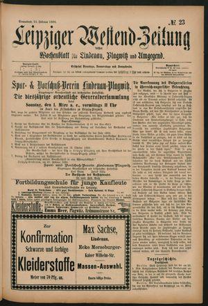 Leipziger Westend-Zeitung vom 22.02.1896
