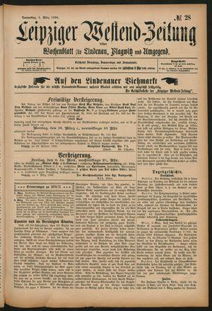 Leipziger Westend-Zeitung vom 05.03.1896