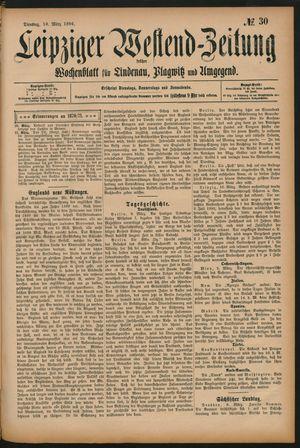 Leipziger Westend-Zeitung vom 10.03.1896