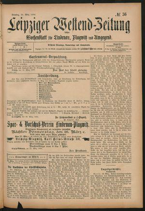 Leipziger Westend-Zeitung vom 24.03.1896