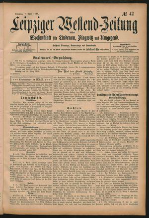 Leipziger Westend-Zeitung on Apr 7, 1896