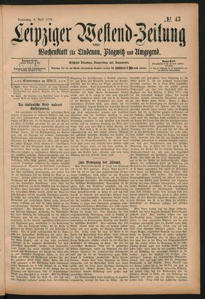 Leipziger Westend-Zeitung vom 09.04.1896
