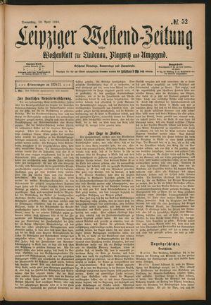Leipziger Westend-Zeitung vom 30.04.1896