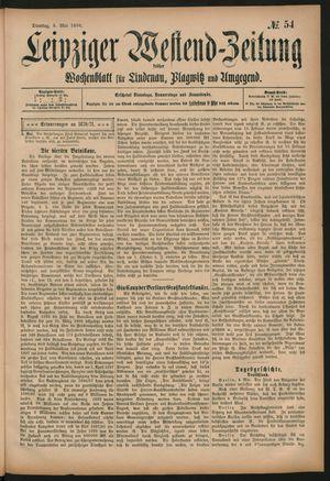 Leipziger Westend-Zeitung vom 05.05.1896