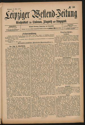Leipziger Westend-Zeitung on May 13, 1896