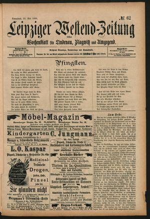 Leipziger Westend-Zeitung vom 23.05.1896