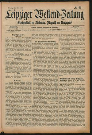 Leipziger Westend-Zeitung vom 26.05.1896