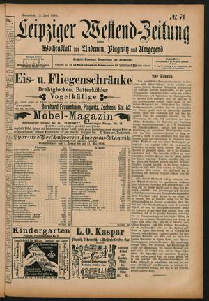 Leipziger Westend-Zeitung vom 13.06.1896