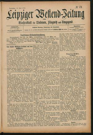 Leipziger Westend-Zeitung vom 18.06.1896