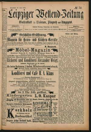 Leipziger Westend-Zeitung vom 20.06.1896