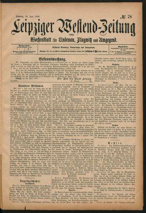 Leipziger Westend-Zeitung vom 30.06.1896