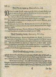Zeitung auß Deutschlandt, Welschlandt, Franckreich, Böhmen, Hungarn, Niederlandt und andern Orten (28.01.1619)