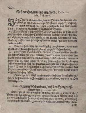Bericht waß sich zugetragen unnd begeben vom 18.01.1621