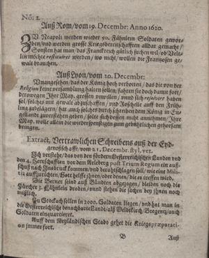 Bericht waß sich zugetragen unnd begeben vom 25.01.1621