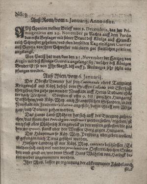 Bericht waß sich zugetragen unnd begeben vom 01.02.1621