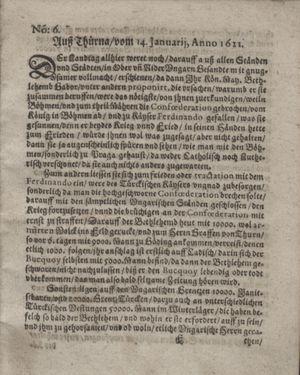 Bericht waß sich zugetragen unnd begeben vom 22.02.1621