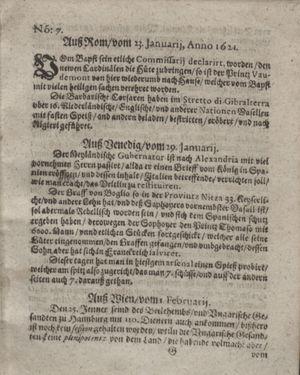Bericht waß sich zugetragen unnd begeben vom 01.03.1621