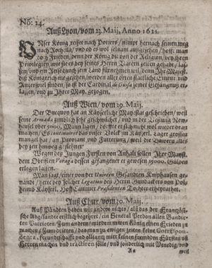 Bericht waß sich zugetragen unnd begeben vom 28.06.1621