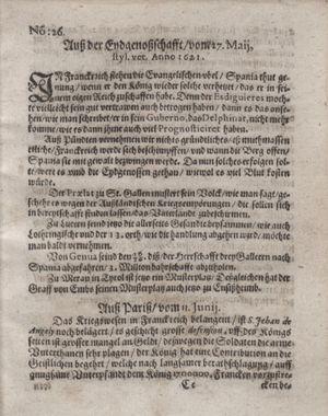 Bericht waß sich zugetragen unnd begeben vom 12.07.1621