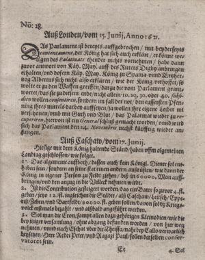 Bericht waß sich zugetragen unnd begeben vom 26.07.1621
