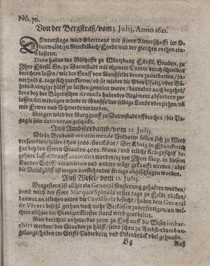 Bericht waß sich zugetragen unnd begeben vom 09.08.1621