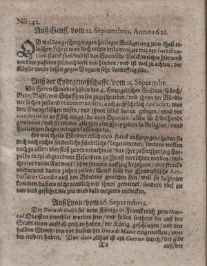 Bericht waß sich zugetragen unnd begeben vom 01.11.1621