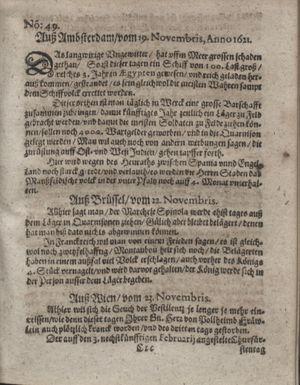 Bericht waß sich zugetragen unnd begeben vom 20.12.1621