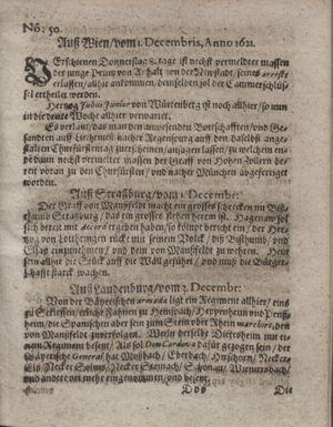 Bericht waß sich zugetragen unnd begeben vom 27.12.1621