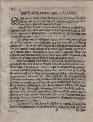 Zeitung im ... Jhaar einkommen und wöchentlich zusammen getragen worden vom 23.05.1622