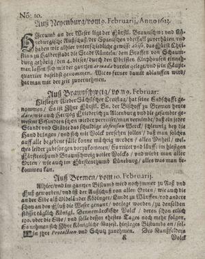Zeitung so im ... Jahr von Wochen zu Wochen colligirt und zusammen getragen worden on Mar 20, 1623