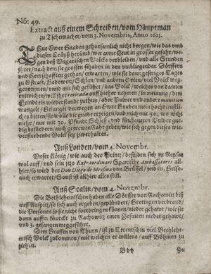 Zeitung so im ... Jahr von Wochen zu Wochen colligirt und zusammen getragen worden vom 11.12.1623