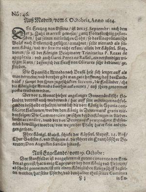 Zeitung so im ... Jahr von Wochen zu Wochen colligirt und zusammen getragen worden on Nov 25, 1624