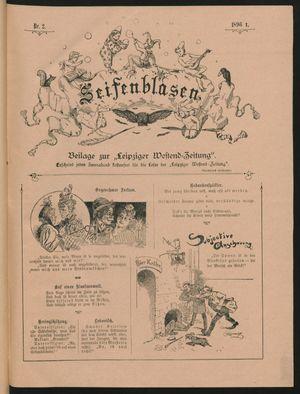 Seifenblasen vom 11.01.1896