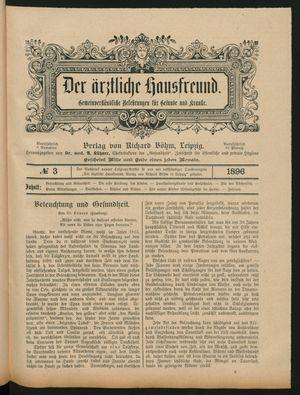 ˜Derœ ärztliche Hausfreund vom 20.02.1896