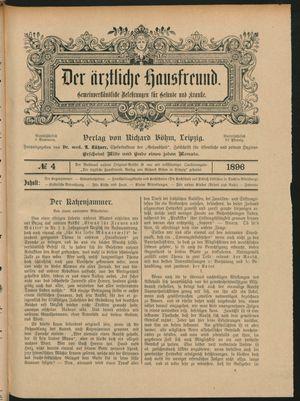 ˜Derœ ärztliche Hausfreund vom 05.03.1896