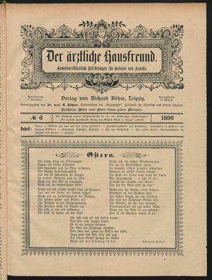 ˜Derœ ärztliche Hausfreund vom 09.04.1896