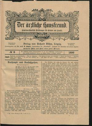˜Derœ ärztliche Hausfreund vom 07.05.1896