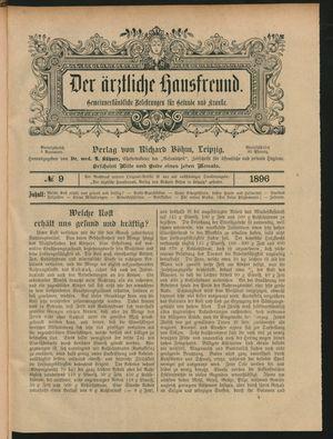 ˜Derœ ärztliche Hausfreund vom 21.05.1896