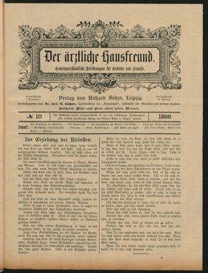 ˜Derœ ärztliche Hausfreund vom 09.06.1896