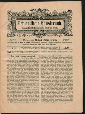 ˜Derœ ärztliche Hausfreund vom 30.06.1896