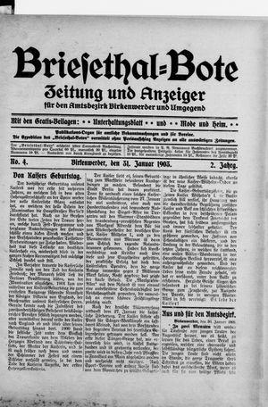 Briesetal-Bote vom 31.01.1903