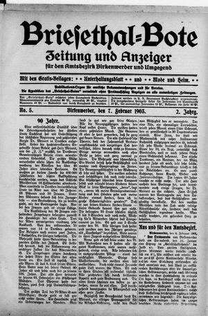 Briesetal-Bote vom 07.02.1903