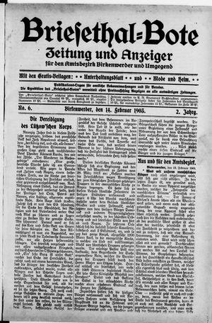 Briesetal-Bote vom 14.02.1903